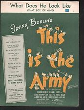 What Does He Look Like 1943 This Is The Army (movie)