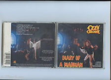 Ozzy Osbourne Diary of a Madman Japan CBS CD Didp CSR Jet Records Black Sabbath
