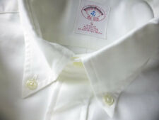 New! Brooks Brothers White Oxford BD Collar Shirt ~ NWT - Slim Fit ~ USA Small