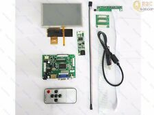 "HDMI+VGA+2AV LCD driver board 5"" 800x480 HSD050IDW + Touch panel For Your Pi"
