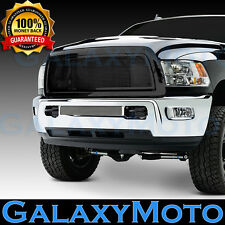 10-12 Dodge RAM 2500+3500+HD Front Hood Black Billet Grille+Replacement+Shell
