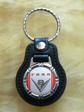FORD V8 KEY FOB KEY CHAIN KEY RING PICK UP LLAVEROS PORTE-CLÉ SCHLÜSSELANHÄNGER