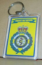 Yorkshire Ambulance Service Community First Responder key ring..
