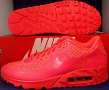 Nike Air Max 90 Hyperfuse Premium iD Solar Red SZ 11 !! ( 653603-993 )