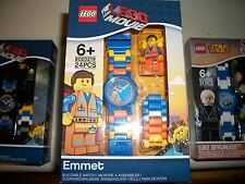 "BRAND NEW'THE LEGO MOVIE ""EMMET - BUILDABLE WATCH # 8020219"