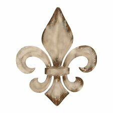 Woodland Imports 52789 Decorative Metal Fleur De Lis Wall Art