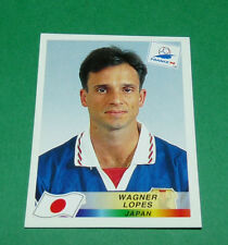 N°530 WAGNER LOPES JAPON JAPAN PANINI FOOTBALL FRANCE 98 1998 COUPE MONDE WM