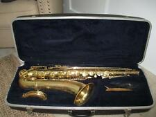 Vintage Conn Shooting Star Tenor Saxophone Sax W/ Case