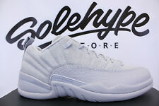 NIKE AIR JORDAN 12 RETRO LOW XII WOLF GREY NAVY GEORGETOWN 308317 002 SZ 9.5