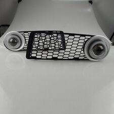 DRL COB Angel Eyes Fog lights Projector Lamp Bumper Cover For VW Beetle 08-11
