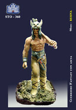 LA FORTEZZA SCALE MODEL STO-0360 - GUERRIERO FANTASY CON ASCIA - 90mm RESIN KIT