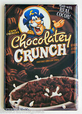 Chocolate Cap'n Crunch FRIDGE MAGNET (2 x 3 inches) cereal box captain