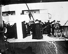 New 8x10 Photo: Survivors of RMS TITANIC Ship aboard SS CARPATHIA after Rescue