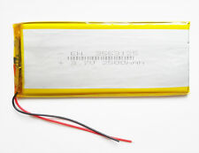 2500mAh 3.7V LiPo Polymer li ion Battery cell For Power Bank Tablet PC 3553125