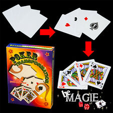 Poker Transformation - Tour de magie