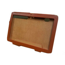 Motorola Xoom Tablette en cuir folio case orange pochette avec support