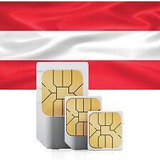 Österreich Daten SIM + 1000 MB für 30 Tage
