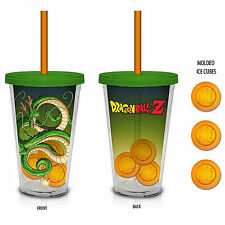 Dragon Ball Z Shenron 18 oz. Carnival Cup With Molded Ice Cubes NEW Mug