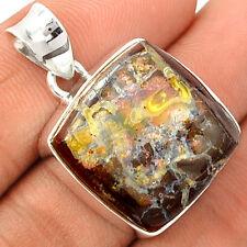 Boulder Opal 925 Sterling Silver Pendant Jewelry BDOP674