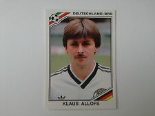 PANINI WORLD CUP STORY - N.193 - WC MEXICO 86 - ALLOFS DEUTSCHLAND