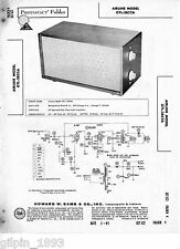 Airline Model GTL-3852A Tube Audio Amplifier - Sams PhotoFact