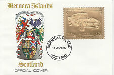 GB Locals - Bernera (2271) - 1985 Gold Cars BMW  on First Day Cover