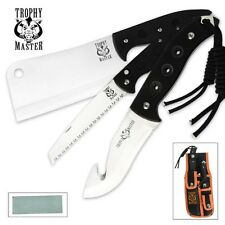 Trophy Master 3 Piece Field Dressing Hunting Knife Set