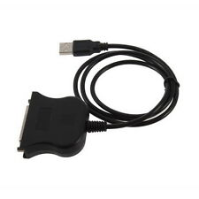 USB to 25 Pin DB25 Parallel Printer Cable Adapter Cord Converter New LY