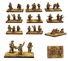Forged in Battle British infantry platoon 1944 x 40 figures 15mm 1/100 FoW