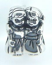 2010-3234 CHAMILIA STERLING SILVER SISTERS CHARM NEW WITH POUCH