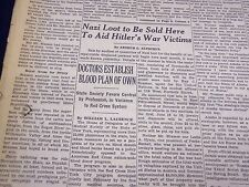 1948 MAY 22 NEW YORK TIMES - NAZI LOOT TO BE SOLD HERE - NT 3634