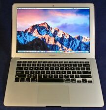 "APPLE MACBOOK AIR 13"" Core i5 1.7GHZ 4GB 128GB SSD W/LOTS OF EXTRAS OFFICE 2016"