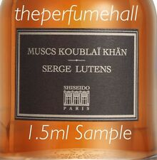 Serge Lutens Muscs Koublai Khan  Sample vial Travel