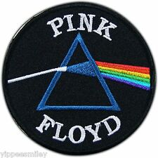 Pink Floyd Dark Side Of The Moon Embroidered Sew Iron on Patch Jacket Cap #M002