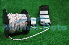 14 Gauge Twisted Wire  for Underground  In-Ground  Electric Dog Fence  100 ft