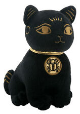 "EGYPTIAN BASTET STUFFED PLUSH DOLL.5.25"" LITTLE SOFT CUDDLY BAST CAT KITTEN CUTE"