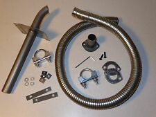 Complete combustion exhaust system for Honda EU6500is EU65is, EU7000is, EU70is