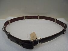 CINTURA donna UGO CORREANI in pelle con borchie-VINTAGE-leather belt with studs