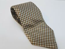 VAN HEUSEN 100% soie luxe homme classic fit plaid cravate. excellent état