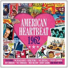 American Heartbeat 1962 VARIOUS ARTISTS Music BEST OF 50 SONGS New Sealed 2 CD