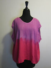 NWT ALTERNATIVE APPAREL Wild Aster Ombre Tunic Sz S Slouchy Boho Top