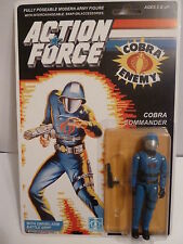 Action Force / GI Joe Cobra Commander MOC MIB Carded