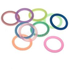 10Pcs O-Rings Silicone Baby Dummy Mam Pacifier Chain Clips Adapter Holder