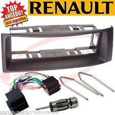 RENAULT Megane II 2 Scenic Radioblende Radio Rahmen Blende Adapter Kabel SET