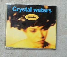 "CD AUDIO INT/ CRYSTAL WATERS ""SUPRISE""1991 CDM 3T MERCURY 866 589-2 RARE ELECTRO"