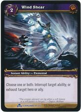 WOW TCG Scourgewar Promo FOIL Wind Shear NM