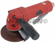 "4"" Air Powered Angle Grinder Tool with Grinding Disc"
