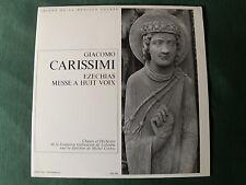 GIACOMO CARISSIMI, Ezechias - GULBENKIAN CORBOZ - LP ERATO JMS 808 STU 70762