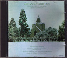 Britten sonnets of Michelangelo Anthony Rolfe Johnson CD Canticle n. 1 Hyperion