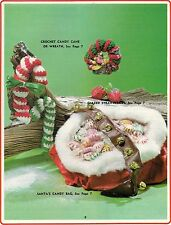 Crochet Candy Cane & Wreath - Craft Books:  Make Yours a Crafty Christmas III
